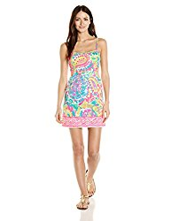 Lilly Pulitzer Women's Shelli Engineered, 999:MULTIRU6 :Come Out of Your Shell Engineereed Dress, 2