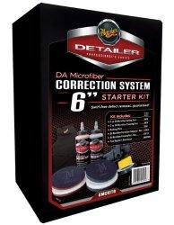 Meguiar's DMCKIT6 DA Microfiber Correction System Kit