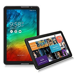 NPOLE Android Tablet 16G IPS 10.6″ Android 5.1 Quad Core 1366×768 Display 3D Game Supported Black