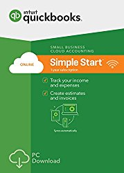 QuickBooks Online Simple Start 2017 Small Business Accounting [PC Download]