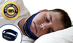 The Original Smart Sleep Anti Snore Chin Strap – stops snoring immediately & naturally! Adjustable and Super Comfortable