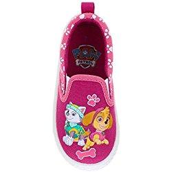 Paw Patrol Toddler Girls' Slip On Casual Canvas Shoe (12 M US Toddler)
