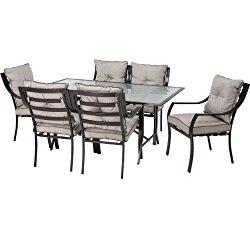 Hanover ODLA-7PC-CU-GL Lavallette 7-Piece Outdoor Dining Set