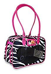 J Garden Pet Purse Collection (Zebra – Pink)