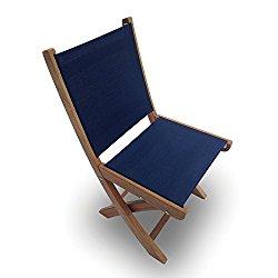 how much does royal teak collection smsn sailmate teak sling folding side chair navy 20 inch. Black Bedroom Furniture Sets. Home Design Ideas