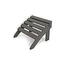 Trex Outdoor Furniture TXO53SS Cape Cod Folding Ottoman, Stepping Stone
