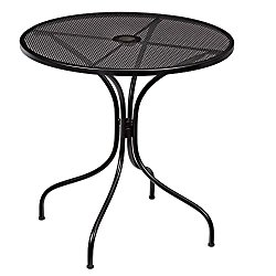 How Much Does Nantucket Round Metal Outdoor Bistro Table