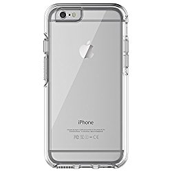 OtterBox SYMMETRY CLEAR SERIES Case for iPhone 6/6s (4.7″ Version) – Retail Packaging – CLEAR (CLEAR/CLEAR)