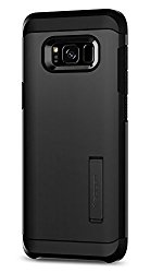 Spigen Tough Armor Galaxy S8 Plus Case with Kickstand and Extreme Heavy Duty Protection and Air Cushion Technology for Galaxy S8 Plus (2017) – Black
