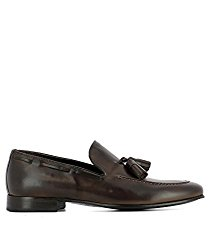 J.Wilton Men's 204590MORO Brown Leather Lace-Up Shoes