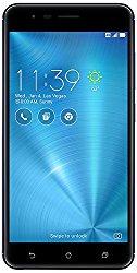 ASUS ZenFone 3 Zoom 5.5″ 3GB RAM, 32GB storage 4G LTE Unlocked Dual SIM Cell Phone, US Warranty (ZE553KL-Navy Black)