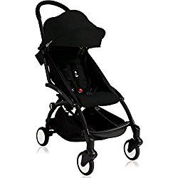 BabyZen 2016 Yoyo+ Stroller Bundle – Black Frame + Color Pack in (Black)