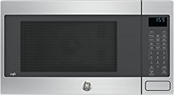GE Cafe CEB1599SJSS Countertop Microwave with 1000 Cooking Watts, Convection, in Stainless Steel
