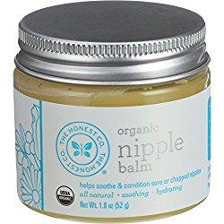 Honest Organic Nipple Balm, 1.8 Ounce