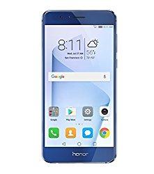 Huawei Honor 8 Dual Camera Unlocked Phone 64GB – Sapphire Blue – GSM – US Warranty