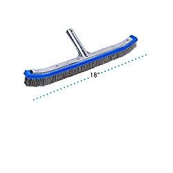 Milliard 18″ Extra-Wide Heavy Duty Wire Pool Algae Brush, Designed for Concrete and Gunite Pools