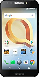 Alcatel A30 PLUS – 16 GB – Unlocked (AT&T/T-Mobile) – Black – Prime Exclusive – with Lockscreen Offers & Ads