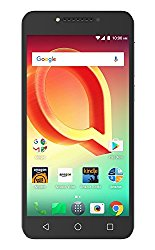 Alcatel A50 – 16 GB – Unlocked (AT&T/T-Mobile) – Metal Silver – Prime Exclusive – with Lockscreen Offers & Ads