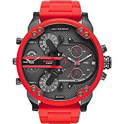 Diesel Watches Mr. Daddy 2.0 Two Hand Stainless Steel Watch