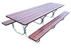 Aluminum picnic table frame- frame only