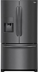 Frigidaire FGHF2367TD Gallery Series 36″ Counter Depth French Door Refrigerator with 21.9 cu. ft. Total Capacity, in Black Stainless Steel