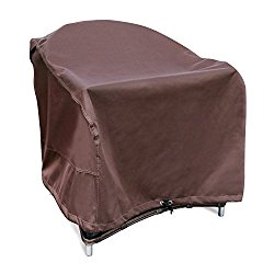 Leader Accessories 600D PVC Heavy Duty Patio Adirondack Chair Cover 100% Waterproof Size 33″W x 35″D x 38″H