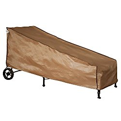 """Abba Patio Weatherproof Outdoor/Porch Patio Chaise Lounge Cover, Water Resistant, 84""""L x 34""""W x 34""""H"""