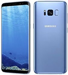 Samsung Galaxy S8 SM-G950FD (Coral Blue) Factory Unlocked 64GB DUAL SIM – International Version/No Warranty – GSM ONLY, NO CDMA