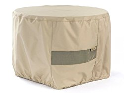 CoverMates – Round Firepit Cover – 36DIAMETER x 25H – Elite Collection – 3 YR Warranty – Year Around Protection – Khaki