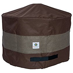 Duck Covers UFPR3620 Ultimate Round Fire Pit Cover, 36″ D x 24″ H