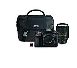 Nikon D7500 20.9MP DSLR Camera with AF-S DX NIKKOR 18-300mm f/3.5-6.3G ED VR Lens, Black