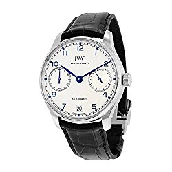 IWC Men's Swiss Automatic Stainless Steel Casual Watch, Color:Black (Model: IW500705)