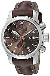 Fortis Men's 656.10.18 L.18 Aeromaster Dawn Chronograph Analog Display Automatic Self Wind Brown Watch