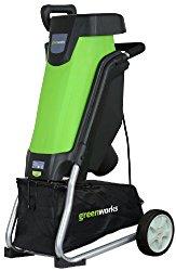 GreenWorks 24052 15 Amp Corded Shredder/Chipper
