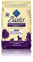 BLUE Basics Limited Ingredient Diet Senior Turkey & Potato Dry Dog Food 24-lb