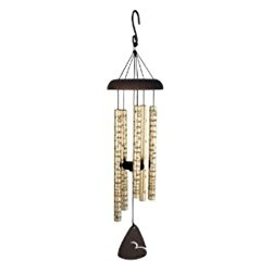 Carson Home Accents Sonnet Wind Chime, 30-Inch Length, Comfort and Light
