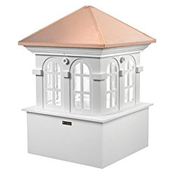 Good Directions Smithsonian Chesapeake Vinyl Cupola with Copper Roof, 48″ x 70″