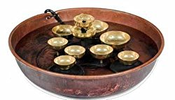 Woodstock Copper Water Bell Fountain- Encore Collection