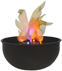 Fortune Products FLM-200 Cauldron Flame Light, 9.75″ Bowl Diameter x 4.5″ Height