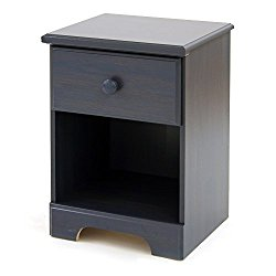 Summer Breeze Collection Nightstand – Blueberry by South Shore
