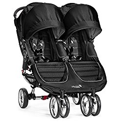 Baby Jogger 2016 City Mini Double Stroller – Black/Gray