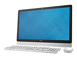 Dell Inspiron io3452 Premium All-in-One Desktop (White Bezel) with 23″ Full HD Touchscreen, Intel Pentium N3700 Quad-Core Processor, 8GB DDR3 RAM, 1TB HDD, DVD+/-RW, Windows 10