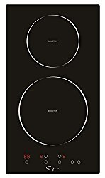 """Empava 12"""" Electric Induction Cooktop Smooth Surface Black Tempered Glass EMPV-IDC12"""