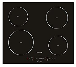 "Empava 24"" Electric Induction Cooktop Smooth Surface Black Tempered Glass EMPV-IDC24"