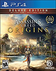 Assassin's Creed Origins Deluxe Edition – PlayStation 4