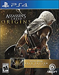 Assassin's Creed Origins SteelBook Gold Edition – PlayStation 4
