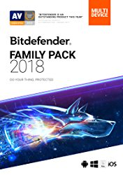 Bitdefender Family Pack 2018 | Unlimited Devices, 2 Year | Download [Online Code]
