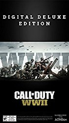 Call of Duty: WWII Digital Deluxe –  PS4 [Digital Code]