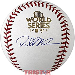 Dallas Keuchel Signed Autographed 2017 World Series Baseball TRISTAR COA