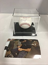 Jose Altuve Autographed Signed Houston Astros MLB Baseball GTSM Player Hologram & COA W/Photo With Display Case Included